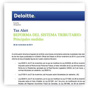 CONSILIO para DELOITTE - reforma sistema tributario