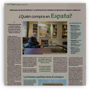 ¿Quién compra en España?