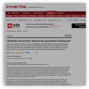 ¿Dónde invierten ahora las grandes fortunas?