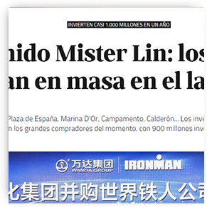 Bienvenido Mister Lin- los asiáticos desembarcan en masa en el ladrillo español