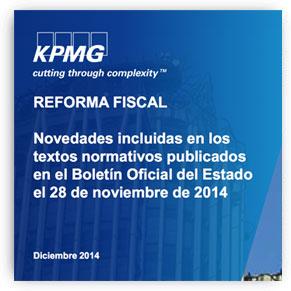 CONSILIO EN KMPG Abogados - reforma fiscal