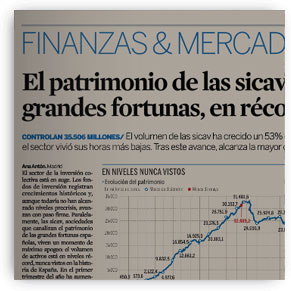El patrimonio de las sicav de las grandes fortunas, en récord histórico