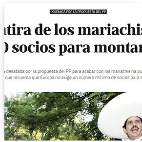 La gran mentira de los mariachis- solo España exige 100 socios para montar una sicav
