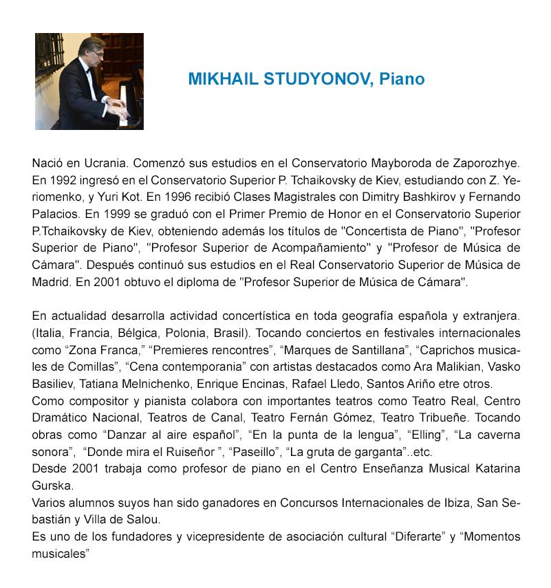 CV Mikhail